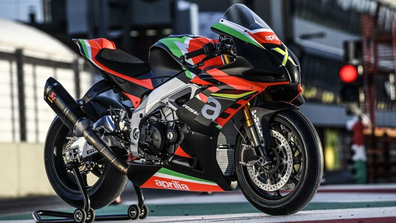 Aprilia RSV4 X, a collector's gem of which only 10 exist 02