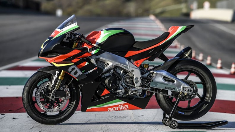 Aprilia RSV4 X, a collector's gem of which only 10 exist 03