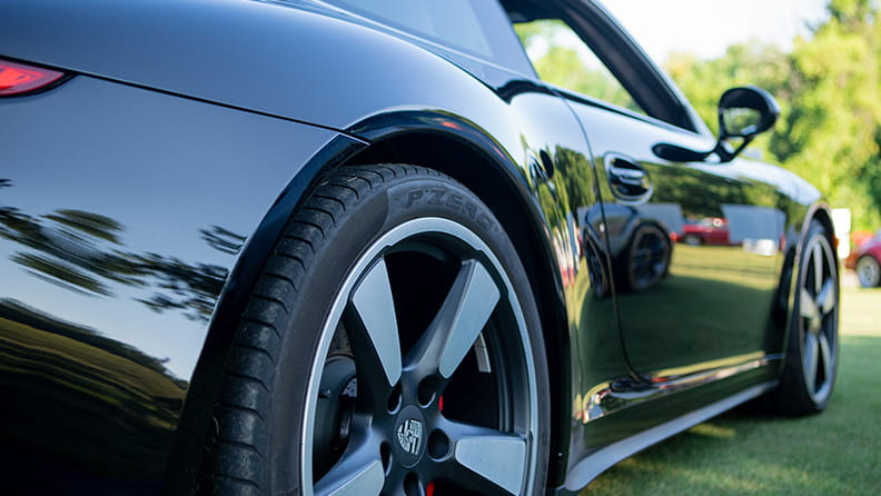 Porsche Club and Pirelli: The perfect fit for a Parade