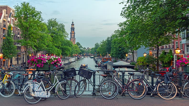 Here are the most bike-friendly cities in Europe - Amsterdam