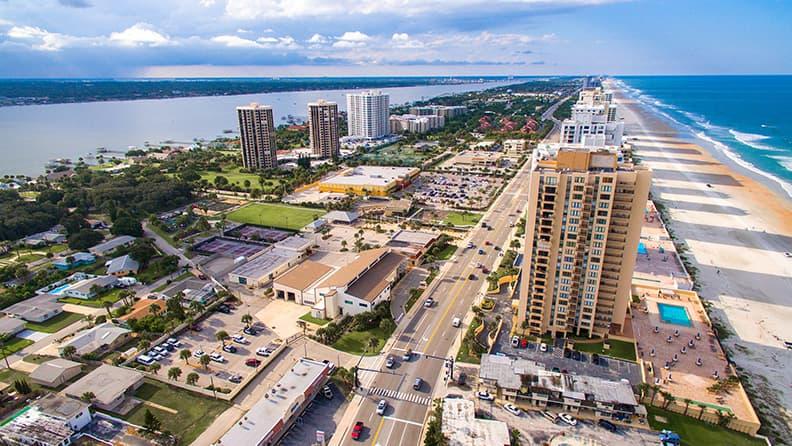 Boca Raton and back - Daytona Beach