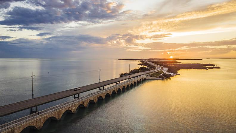 Boca Raton and back - Seven Mile Bridge