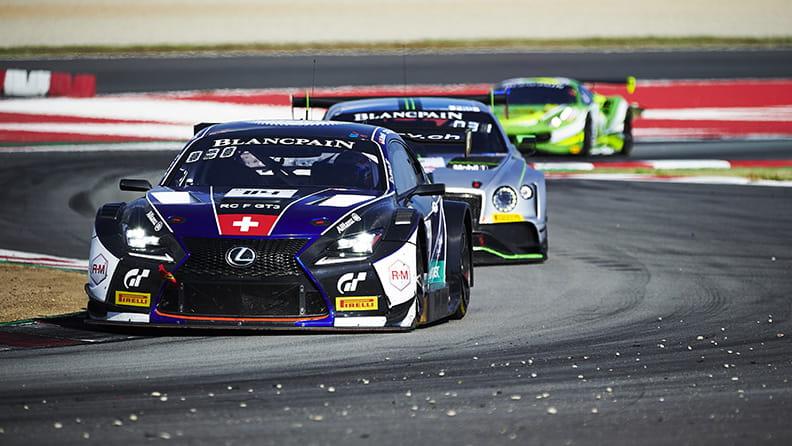 Circuit de Barcelona-Catalunya - Lexus RC F GT3 driven by Markus Paittala