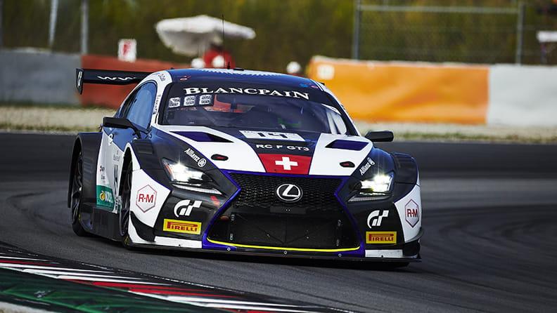 Lexus RC F GT3 driven by Christian Klien