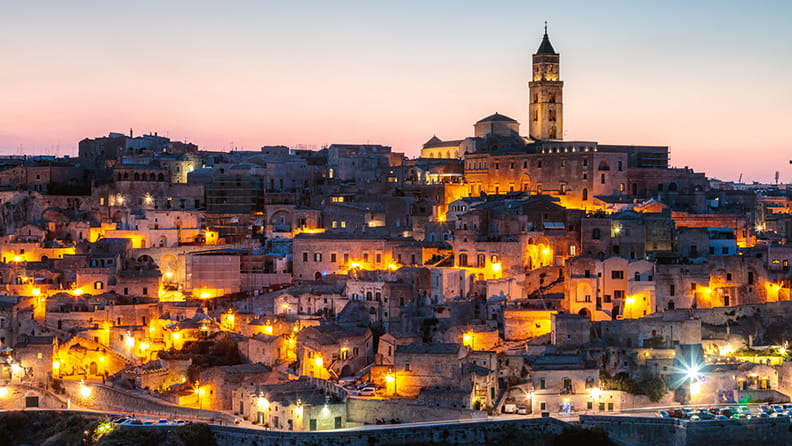 Small, old… and smart - Matera