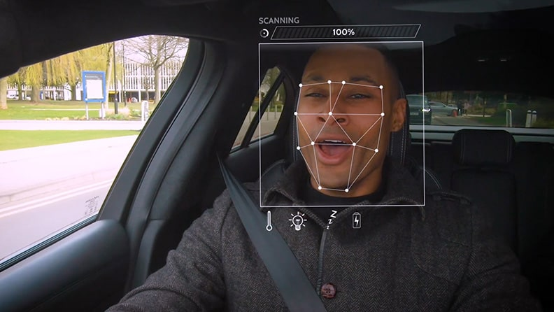 Jaguar Land Rover is studying the anti-stress car 01