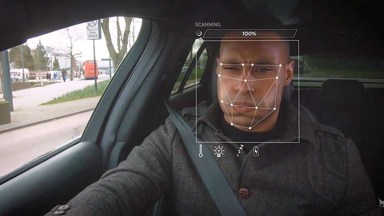 Jaguar Land Rover is studying the anti-stress car 02