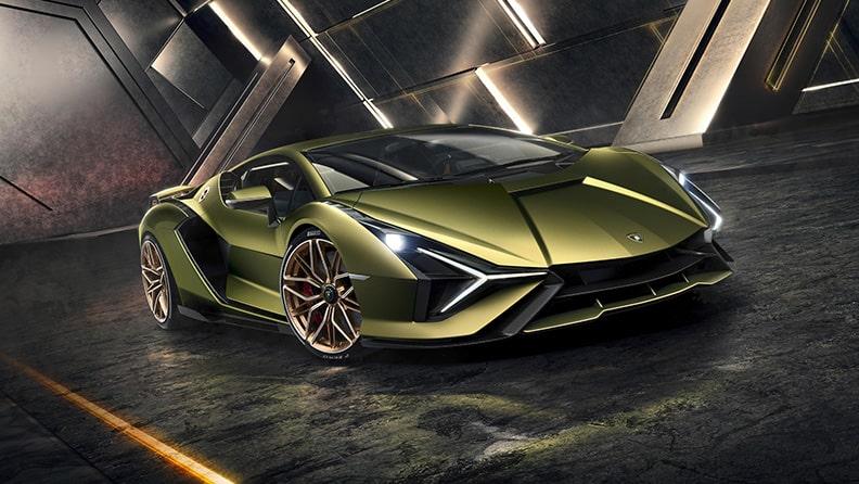 Lamborghini Sián, the first 819-hp hybrid thunderbolt 03