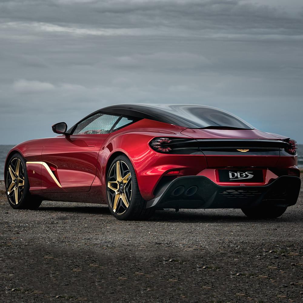 DBS GT Zagato By Aston Martin