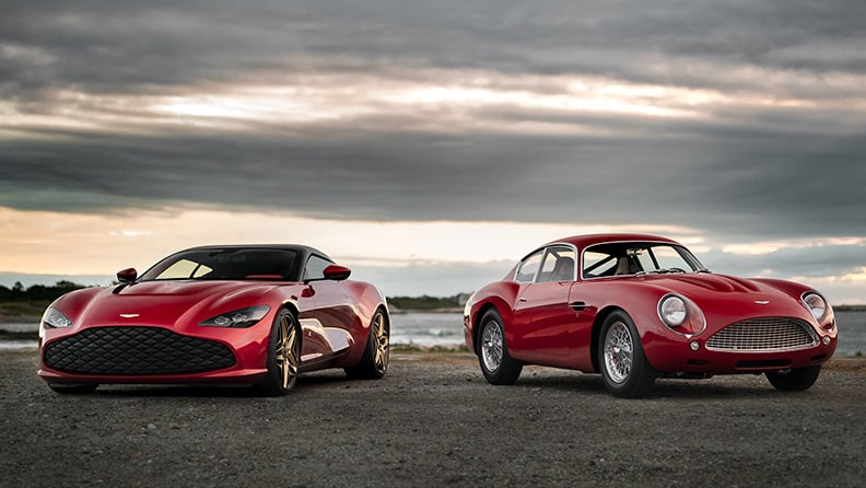 Aston Martin DBS GT Zagato, exclusivity travels in pairs 01