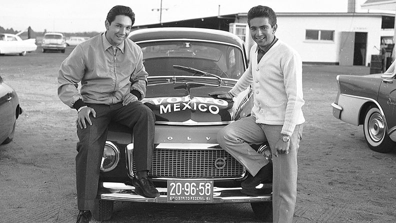 Mexico's first racing heroes