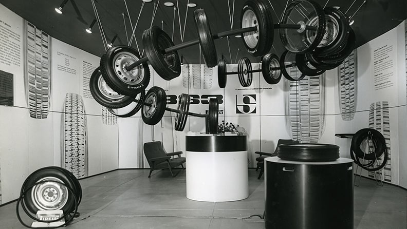Pirelli, 60 years ago the company presented its tyre with a coat 01