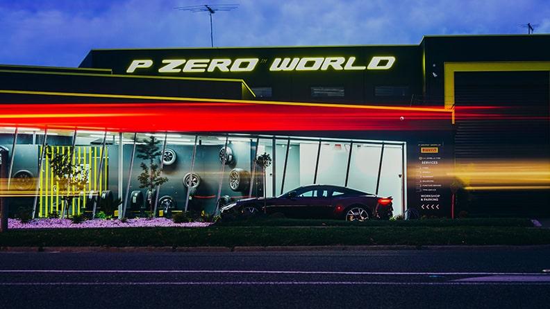P ZERO WORLD in Melbourne eröffnet 01