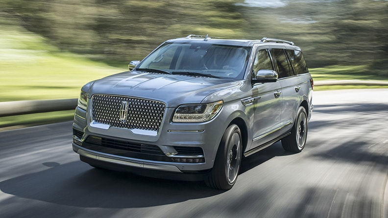 Lincoln Navigator: luxury made in US 01