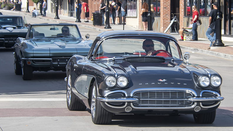 Cars and coffee: still a staple of American car culture