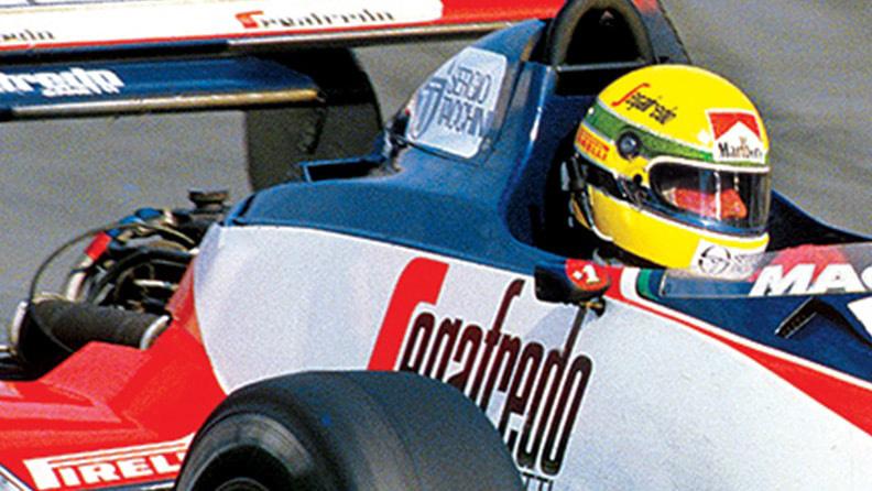 Senna, a estreia do jovem prodígio: de Pirelli 01