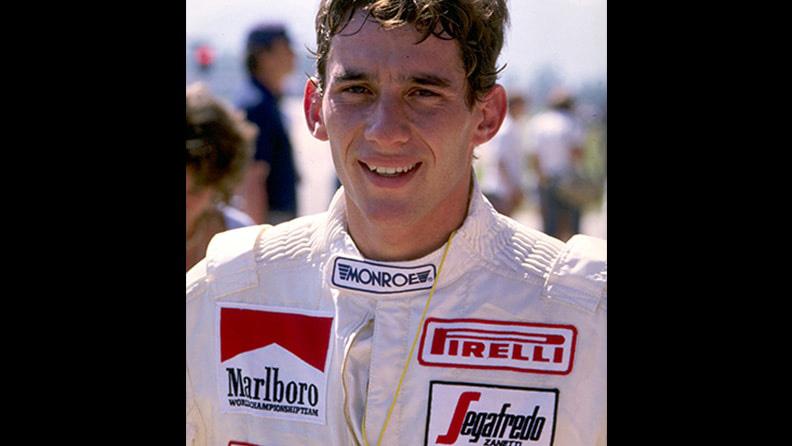 Senna, a estreia do jovem prodígio: de Pirelli 03
