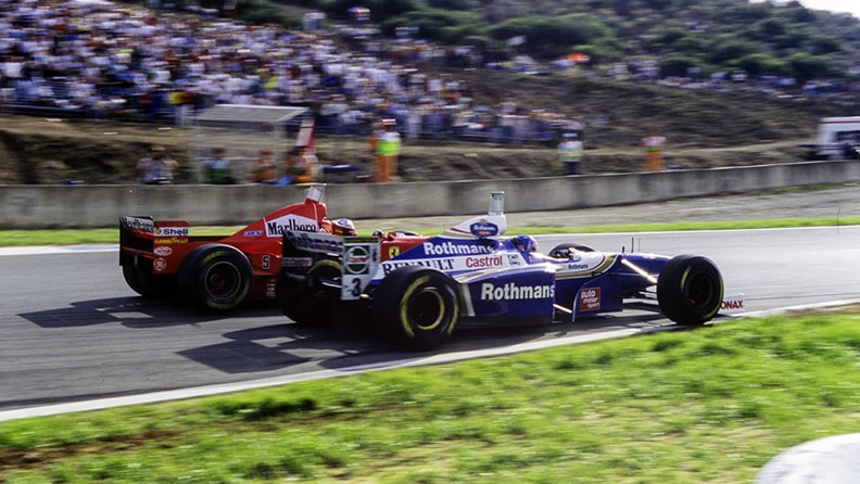 Jacques Villeneuve, the rising and setting of the son 01
