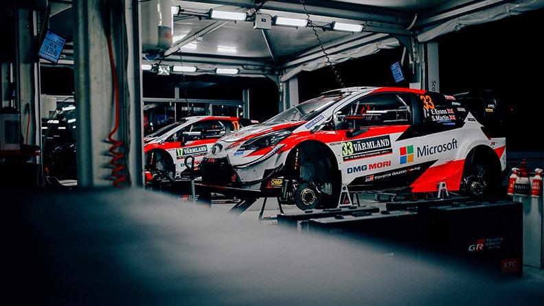 World Rally Cup, Toyota è l'auto da battere 01