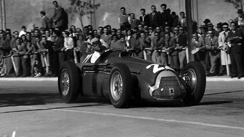 Juan Manuel Fangio, 'El campéon' of the century 01