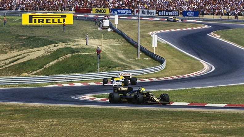 F1, Gp di Ungheria: il sorpasso questo sconosciuto 01