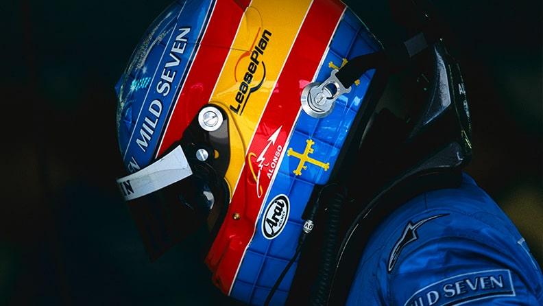 01 - Fernando Alonso, unica missione vincere