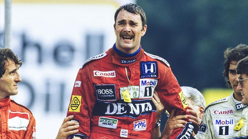 Nigel Mansell: the lionheart 01
