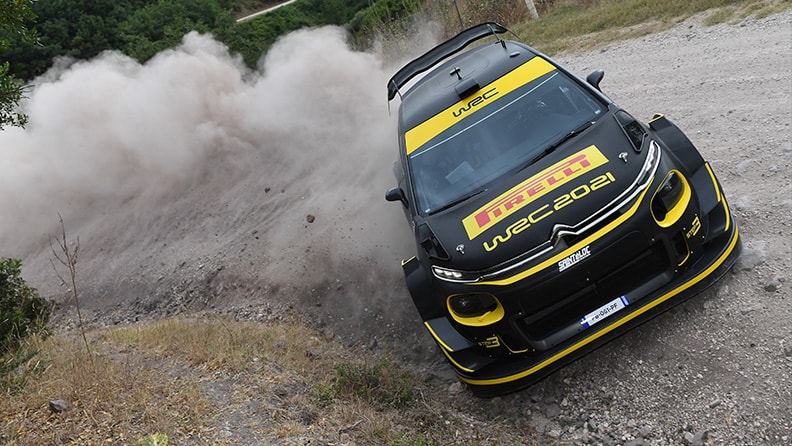 A new era of the World Rally Championship begins in Sardinia