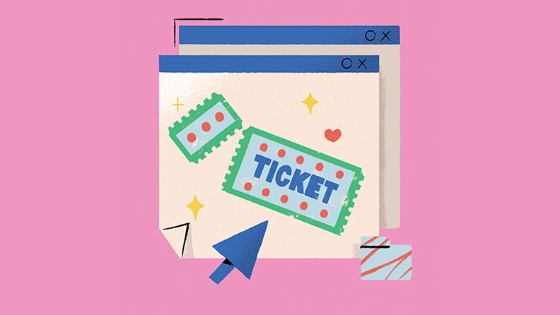 20 words for a new world: Ticket