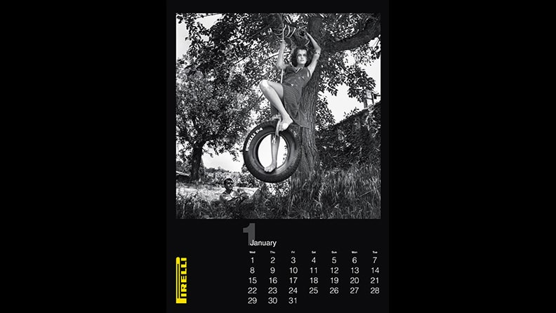 2014: A gem from the archive for the Calendar's 50th anniversary 01