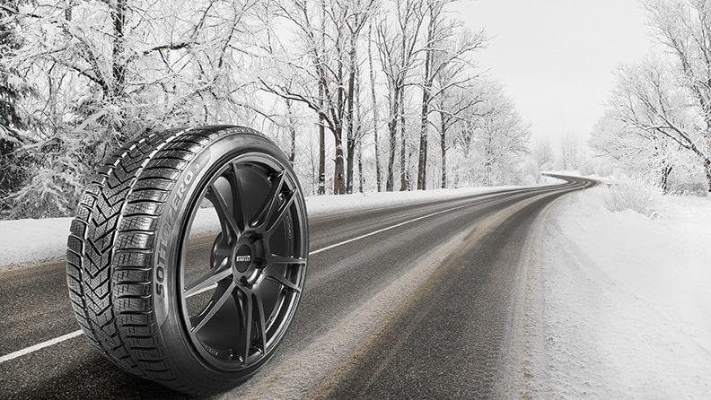 Tres beneficios clave de los neumáticos de invierno Pirelli