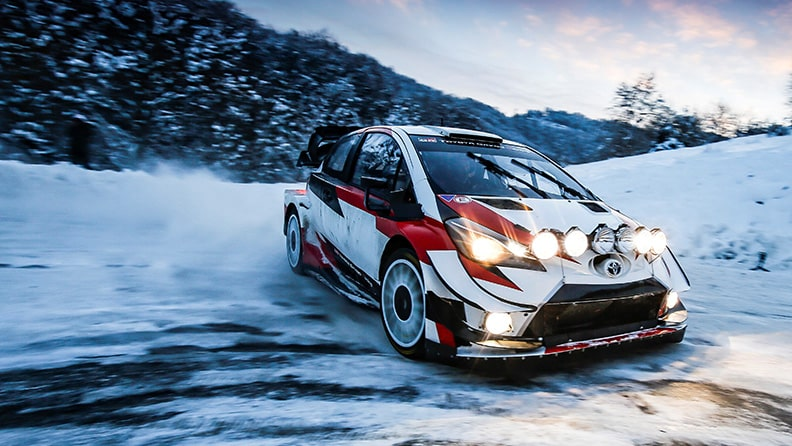 It's snow joke at Rallye Monte-Carlo, the opening round of the World Rally Championship 01