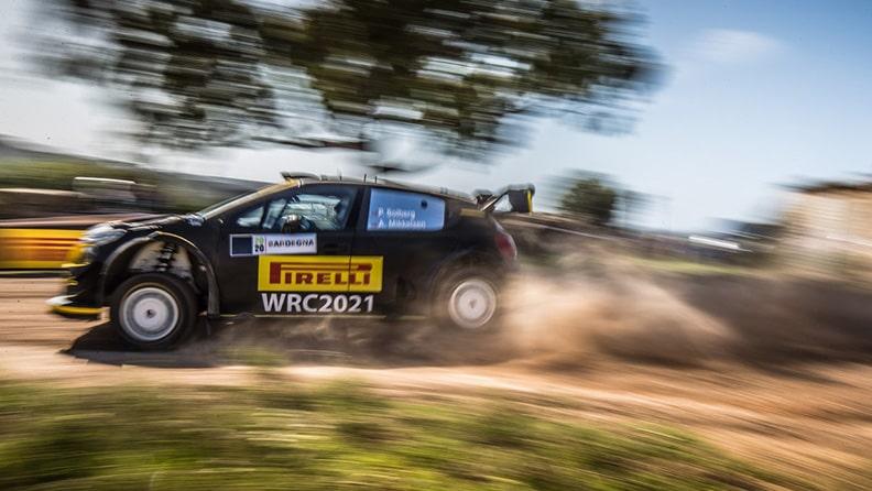 Pirelli's history in rallying