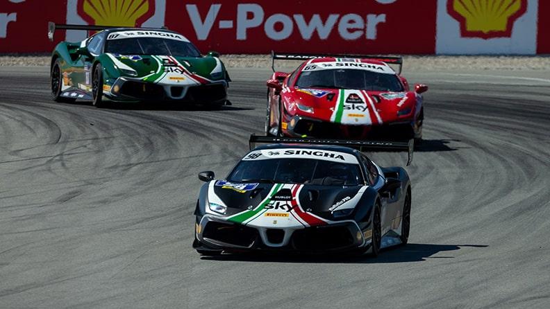 Ferrari Challenge 2021, interview with Frederik Paulsen 01