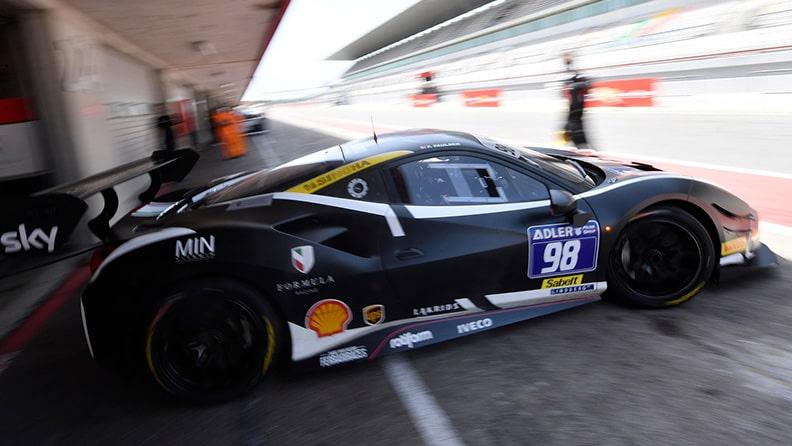 Ferrari Challenge 2021, interview with Frederik Paulsen 02