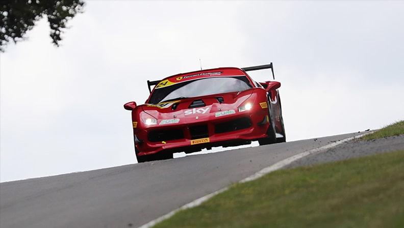 Ferrari Challenge 2021, interview with Lucky Khera 01
