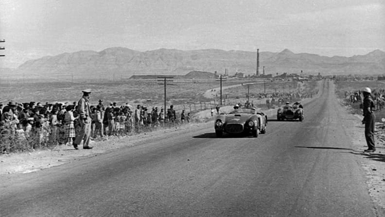 The legendary adventure of the Carrera Panamericana