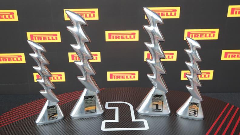 Quando arte e Formula 1 si incontrano: i trofei Pirelli di Alice Ronchi