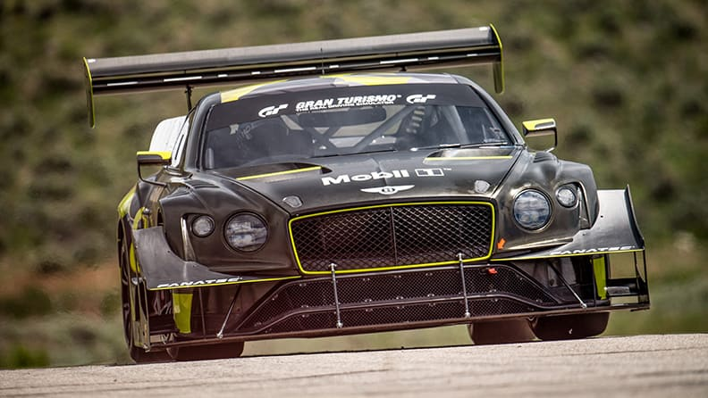 Bentley Continental GT3 ready for Pikes Peak 02