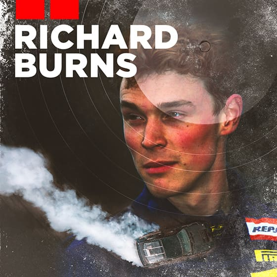 Richard Burns, the rally champion who came from nowhere