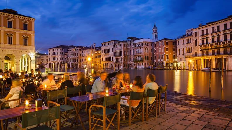 Italy, beauty and cuisine - Venice