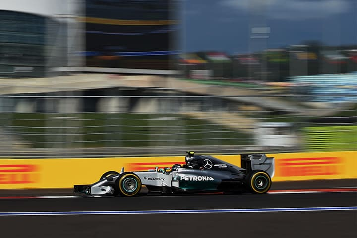 F1 GP: Russian around
