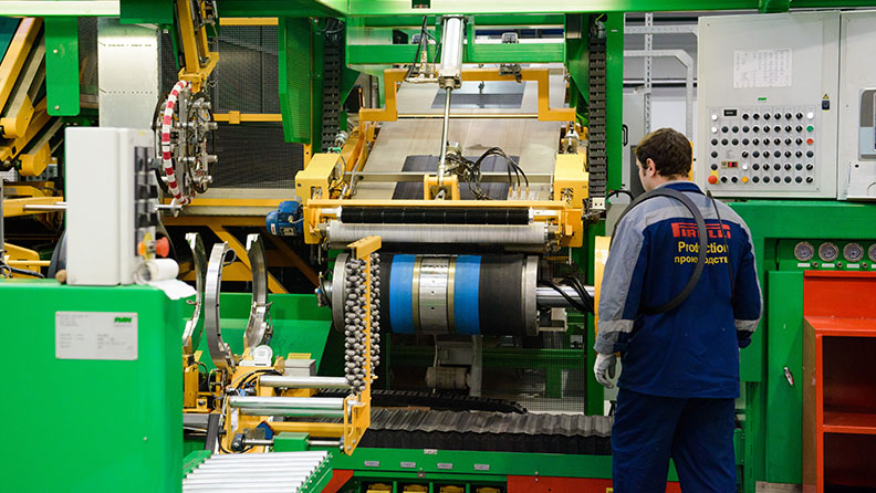 A Pirelli traz o renascimento para a Rússia: a líder Premium de hoje 2