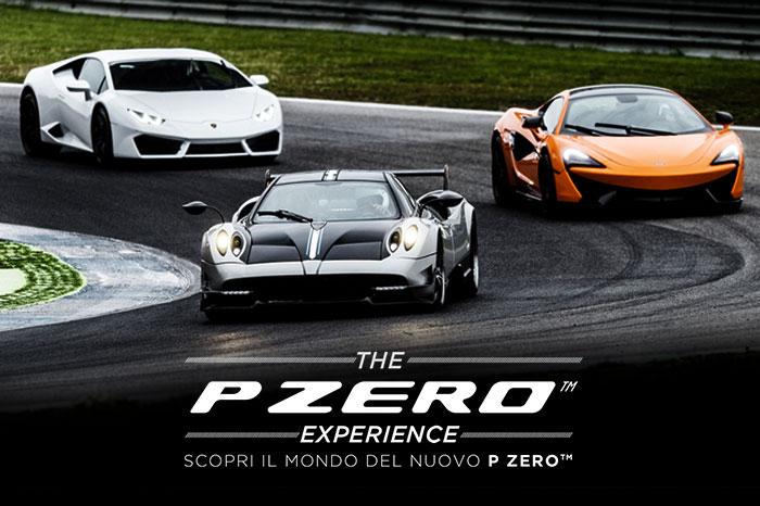 Con P Zero Experience, sali a bordo di una supercar e vinci l'esclusività Pirelli