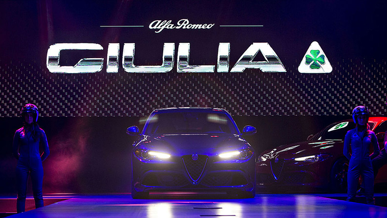 Alfa Romeo Giulia Quadrifoglio, the new flagship and Pirelli P Zero Corsa