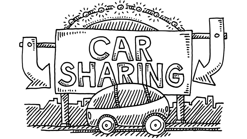 The car sharing phenomenon and fractional cars