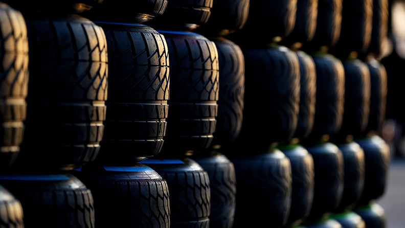 This weekend Pirelli supplies enough competition tyres to cover Mount Everest 1