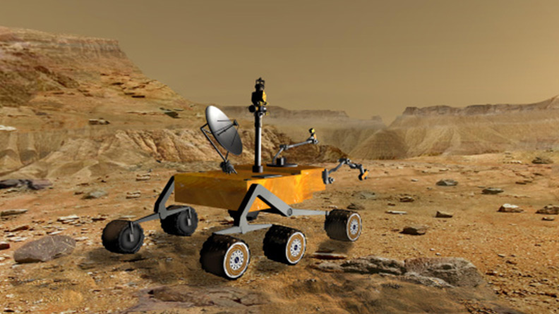 Why rubber tyres don't work on Mars 02