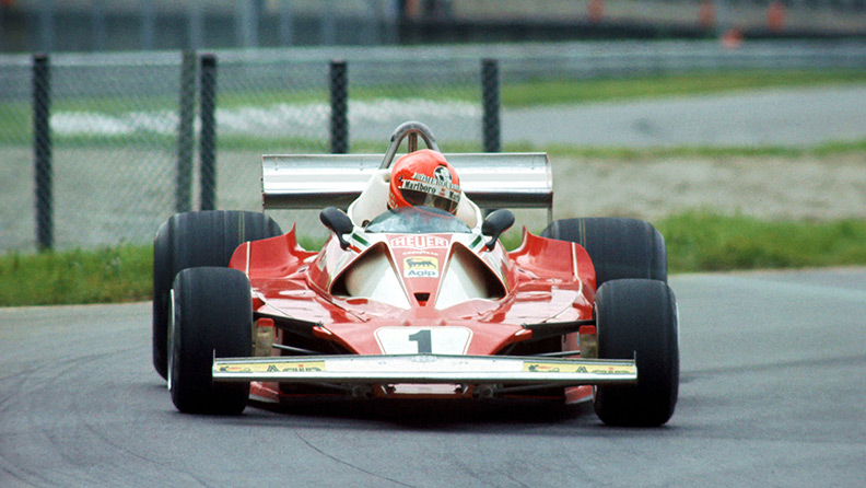 Niki Lauda the phoenix of 1976