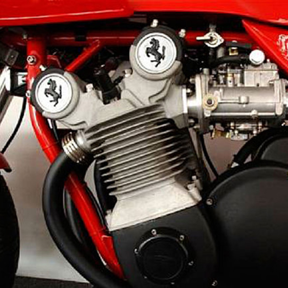 Ferrari Motorcycle The Only Motorcycle From The Prancing Horse Is Up For Auction